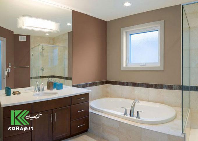 کاربرد فایبرسمنت برد در حمام و سرویس بهداشتی