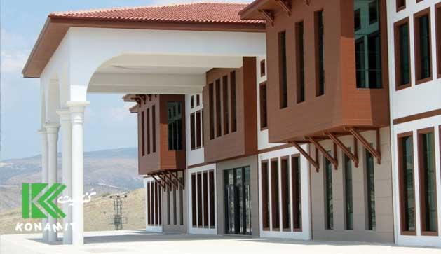 ساختمان های قابل احداث با استفاده از LSF