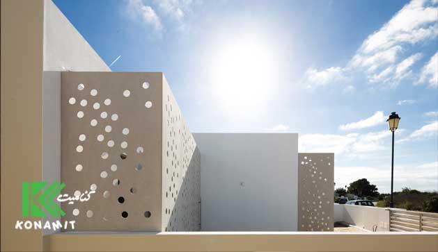 ساخت ویلا با نمای فایبر سمنت