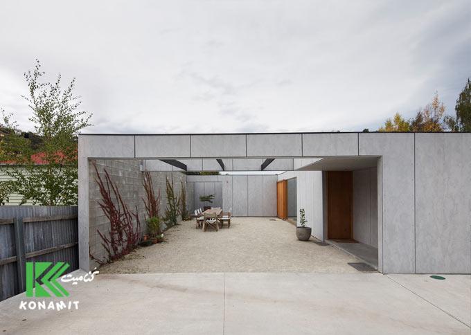 ساخت نماهای مدرن با فایبر سمنت